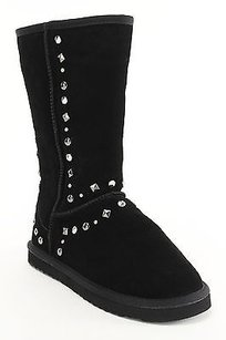 Style & Co Womens Leather black Boots