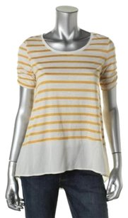 Style & Co T Shirt Gold