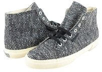 Superga 2095 Twdw Women Designer High Top Sneakers Womens 5 Mens 3.5 Silver Athletic