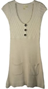 Susina short dress Beige Cable Knit Sweater on Tradesy