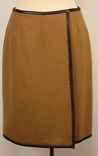 Sutton Studio Womens Skirt Tan