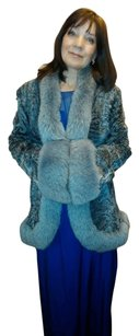 Sutton Studio Very Ligth Fur Fur Coat