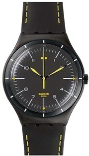 Swatch Swatch Black Bliss Mens Watch Ywb100