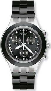 Swatch Swatch Full Blooded Night Mens Watch Svck4035ag