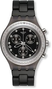 Swatch Swatch Full Blooded Stoneheart Silver Unisex Watch Svcm4009ag