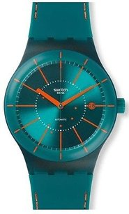 Swatch Swatch Sistem Green Automatic Unisex Watch Sutg400