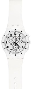 Swatch Swatch Twice Again White Unisex Watch Susw402