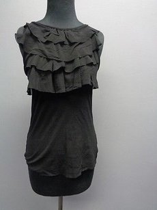 Sweet Pea by Stacy Frati Sleeveless Top Black