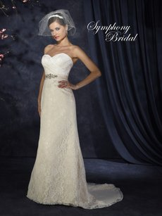Symphony Bridal Symphony Bridal Gown S3318 Wedding Dress