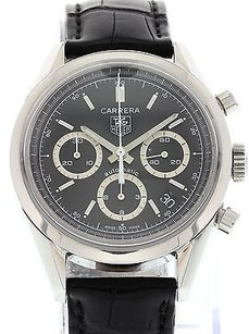 TAG Heuer Mens Tag Heuer Carrera Chronograph Automatic Cv2113-0 W Box