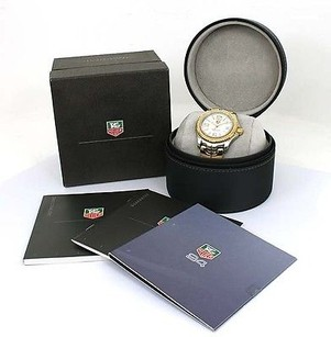 TAG Heuer Tag Heuer 18k Yellow Gold Ssteel Sapphire Crystal 36mm Unisex Wrist Watch