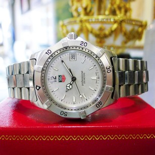 TAG Heuer Men Tag Heuer Professional 200 Ref Wk1112-0 Stainless Steel Watch