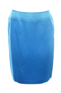 Tahari 5285p320 Skirt Blue