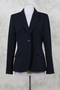 Tahari Womens Long Sleeve Career Black Jacket