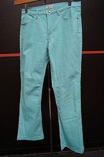 Tahari Aqua Pocket Cottonelastic Jeans 8 Fun 12836 Pants
