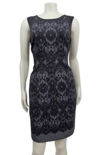 Tahari Lace Print Dress