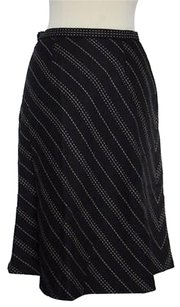 Talbots Womens Petites Skirt Black