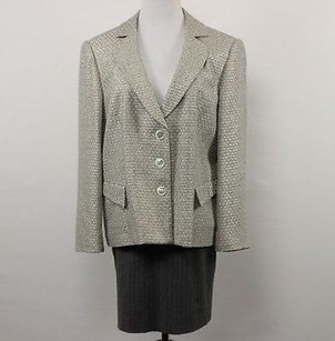 Talbots Womens Petites Gray Jacket
