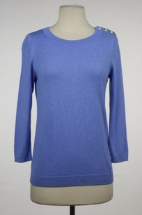 Talbots Womens Periwinkle Sweater