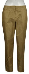 Talbots Womens Metallic Dress Wtw Cropped Trousers Pants