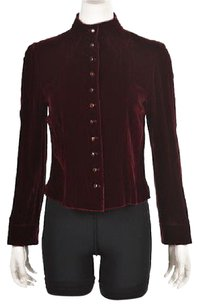 Talbots Collection Womens Top Red