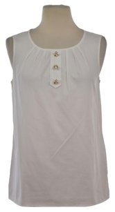 Talbots Womens Top White