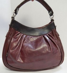 Tano Black Leather Hobo Bag