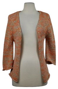 Tara Jarmon Womens Knit Cardigan 34 Sleeve Shirt Sweater