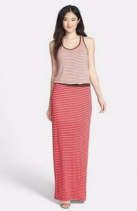 oat/red/brown Maxi Dress by Tart Collections Maris Oatred Striped Maxi 190637f