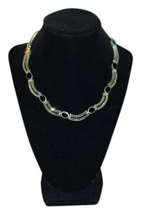 Taxco Black Onyx & Marcasite Necklace