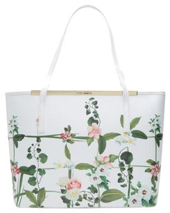 Ted Baker Leather Multi New With Tags Tote in Cream