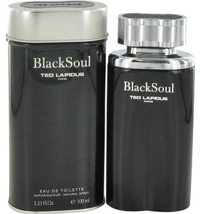 Ted Lapidus BLACK SOUL by TED LAPIDUS EDT Spray for Men ~ 3.4 oz / 100 ml