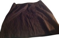 The Limited Brown Skirt Dark brown.