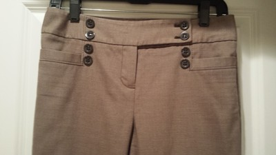 The Limited Straight Pants Brown