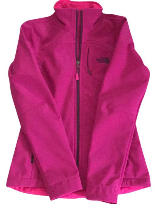 The North Face Fuschia Pink W Apex Bionic Jacket Activewear Size 0 ...