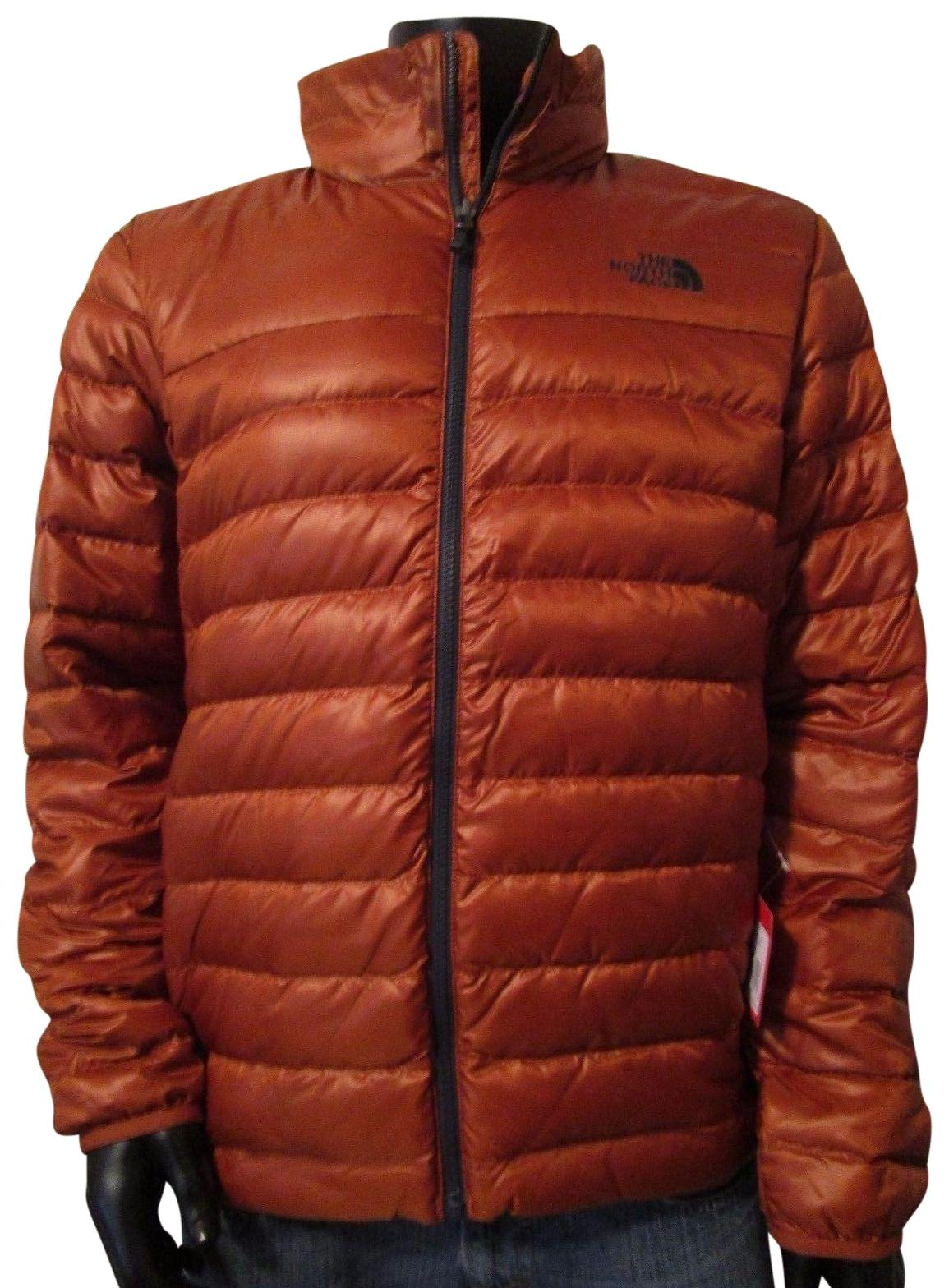 The North Face Gingerbread Brown Mens Flare 550 Down Insulated Fz