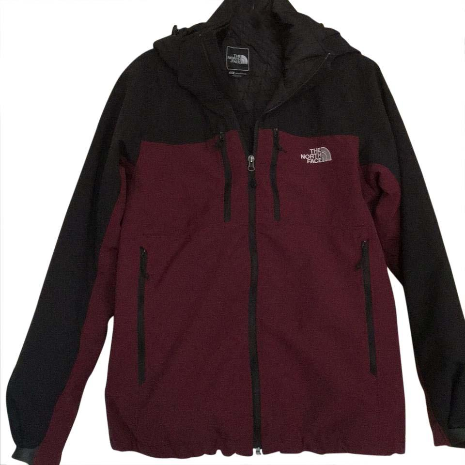 ... clearance the north face maroon and black combination mens jacket size  8 m tradesy cbb50 656cf 7c4f8f8d6