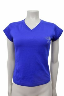 The North Face The North Face Reaxion V-neck Running Top Royal Blue