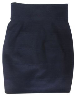 The Row Straight Pencil Skirt Blue