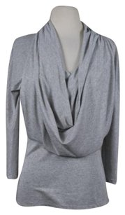 THE WRIGHTS Womens Scoop Neck Med 34 Sleeve Sweater