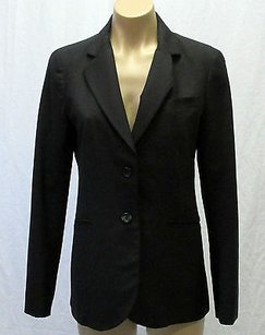 Theory Blend Long Sleeves Black Jacket