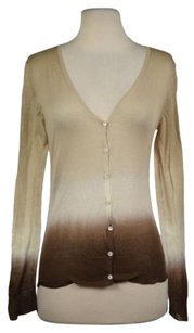 Theory Womens Cardigan Cotton Ombre Casual Shirt Sweater
