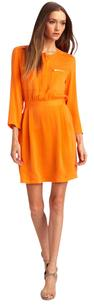 Theory short dress Mandarin orange on Tradesy