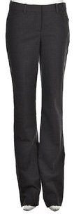 Theory Max Womens Charcoal Dress Trousers Career Pants