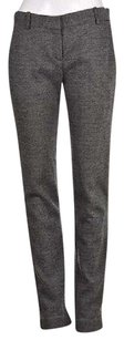 Theory Womens Black Speckled Dress Career Trousers Wtw Pants