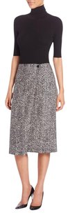 Theory Gantrima Tweed A-line Skirt Gray
