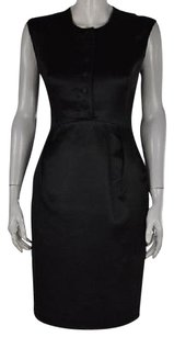 Theory Theyskens Womens Sheath 438 Knee Length Sleeveless Dress