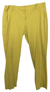 Theory Straight Pants Lime
