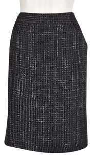 Theory Straight Pencil Skirt Black