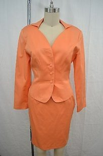 Thierry Mugler Thierry Mugler Vintage Peach Skirt Suit